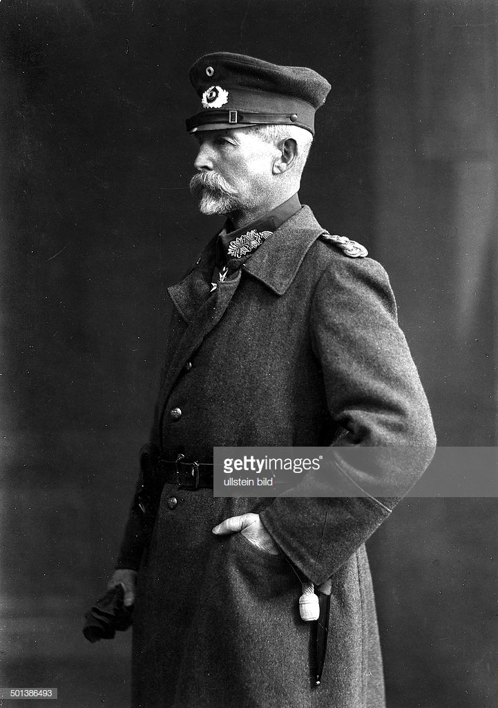 Ludwig von Estorff *24.12.1859-05.10.1943+ German officer, general Portrait around 1918 Photo: Kuehlewindt